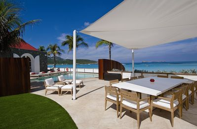 Villa Rockstar - Luxury Villa Rental - Outdoor Dining Area