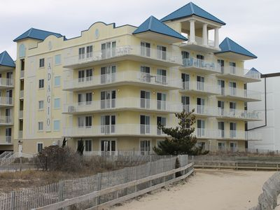 Photo for Gorgeously Decorated 3 Bedroom, 3 Bathroom Condo Directly On The Beach!