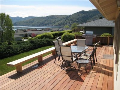 Large Sun Deck with Gas BBQ