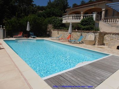 Photo for VILLA WITH HEATED POOL WITH STUNNING VIEWS
