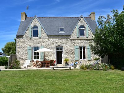 Photo for Lovely old house, privileged setting, near Bay Pors Carn - Torch