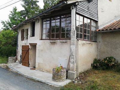 Photo for spacious house with garden above ground pool in small, quiet hamlet