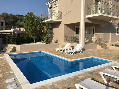 Photo for 3 bedroom Sole Mare villa with private pool in Lakithra