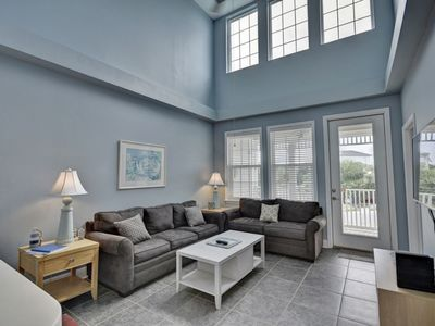 Photo for New Listing! Large condo, Right off 30a, Walk to beach/restaurants