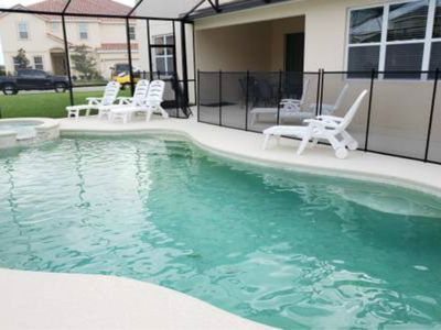 Photo for G7001-Disney house private pool/spa 13BR/10BA