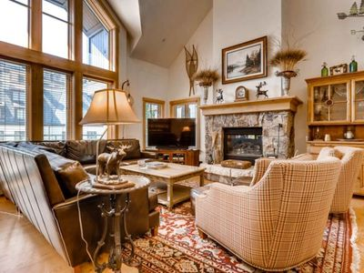 Photo for Spacious & charming home with heated pool & hot tub access