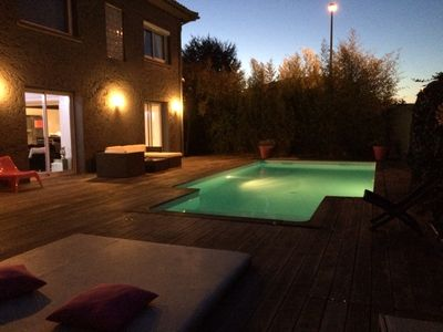 Photo for House with swimming pool and sauna between the golf course and the racecourse of Bordeaux
