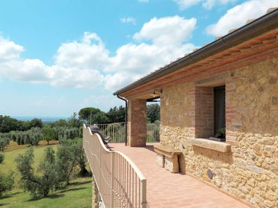 Photo for Vacation home Campo al Mare (CMT300) in Casale Marittimo - 6 persons, 2 bedrooms