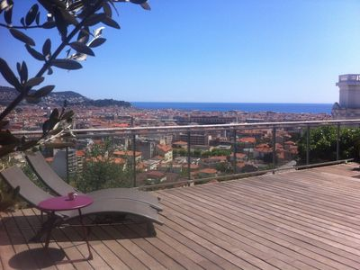 Photo for House in Nice with large terrace and panorama, all comfort.