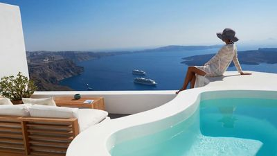 Photo for Noriana Residence Jacuzzi Volcano View Santorini 2br upto 5guests