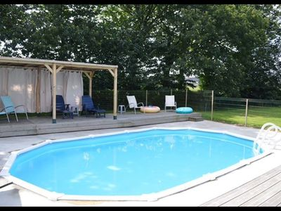 Photo for Well equipped home away from home with private heated pool