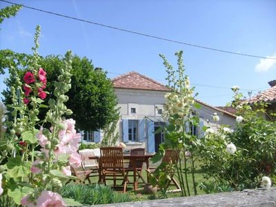 Photo for CHARMING FARMHOUSE IN SOUTH  FRANCE YVIERS (CHALAIS)