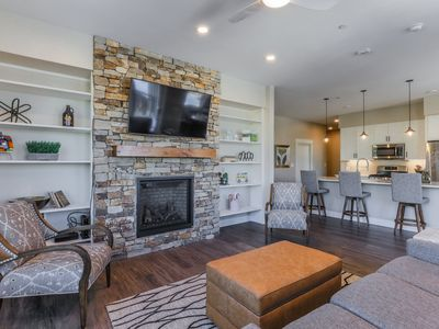 Photo for JUST HEAVENLY - THIS NEWLY CONSTRUCTED - NEW  LISTING NEAR THE LIFT STOP!! THIS NEW beautifully furn