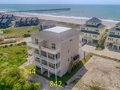 "Photo for ""Golden Years"" Oceanfront  5BR/4.5B  New Townhome - Sleeps 15!"