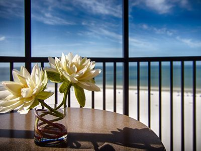 Photo for Elegant + Spacious Suite with Gorgeous Gulf Views!