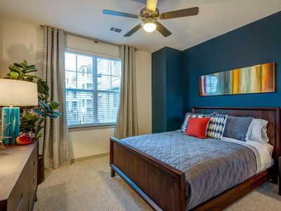 Photo for 1 Bedroom APT in Ballantyne area overlooks pool 3rd flr only 1 flight upstairs