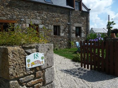 Photo for 2BR Cottage Vacation Rental in Saint-Coulomb, Bretagne