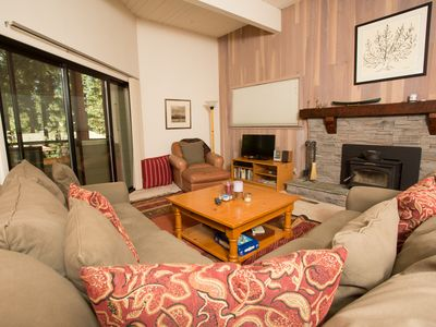 Photo for Forest Pines Townhome Private, Wooded View, Near Lake