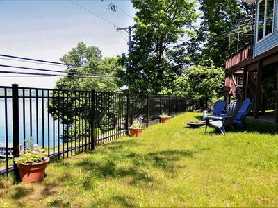 Photo for Picture-perfect lakefront house w/ furnished deck, firepit, & more!