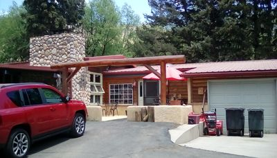 Photo for The Cascade Room is a cozy creekside accommodation at the base of Pikes Peak.