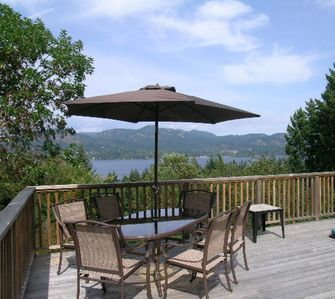 Photo for Andover Cottage: Comfortable family home with hot tub, nice view.