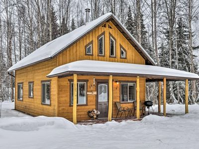 Photo for Peaceful and conveniently located fishing cabin near Kenai River