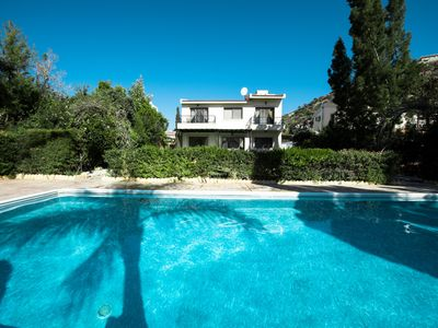 Photo for Luxury 3bedroom Villa with private big poolwith sea view . 200 meters  - beach