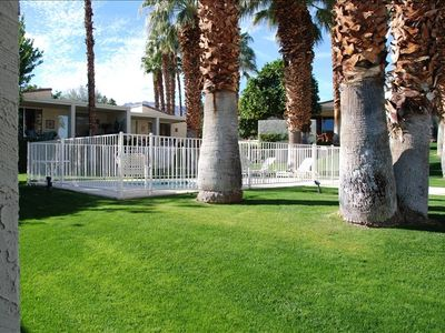 Photo for Ironwood Condo Close to Spa and Pool Amid the Palms