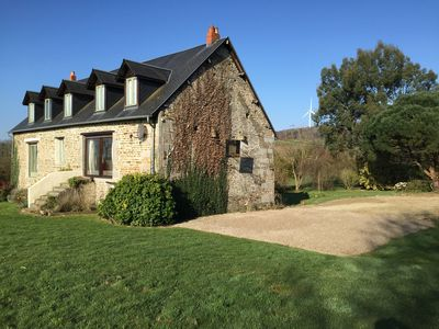 Photo for Charming Stone Country House in Normandy