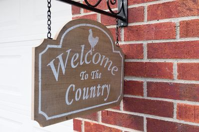 Welcome to our little slice of country heaven!