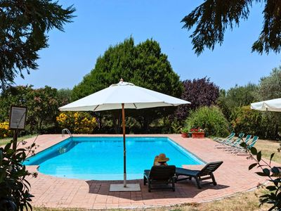 Photo for Gorgeous villa with private pool near Rome surrounded by 30 ha property