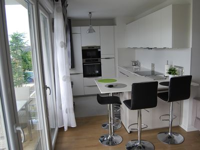 Photo for 20 min from PARIS St Lazare - Central Park - Appart T3 with terrace overlooking park