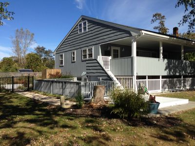 Photo for Unplug with your family at our cozy and secluded private home near the beach