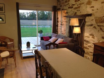 Photo for Le Pressoir: Spacious Gîte, full Nature, forest at 100m, Pornic at 20 Minutes