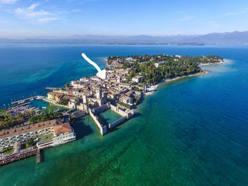 Sirmione Old Town, Sirmione, Lombardy, Italy