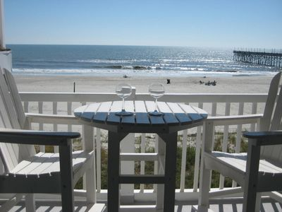 Photo for UPDATED End Unit Oceanfront Condo with Awesome Views - Best View at Ocean Cove!