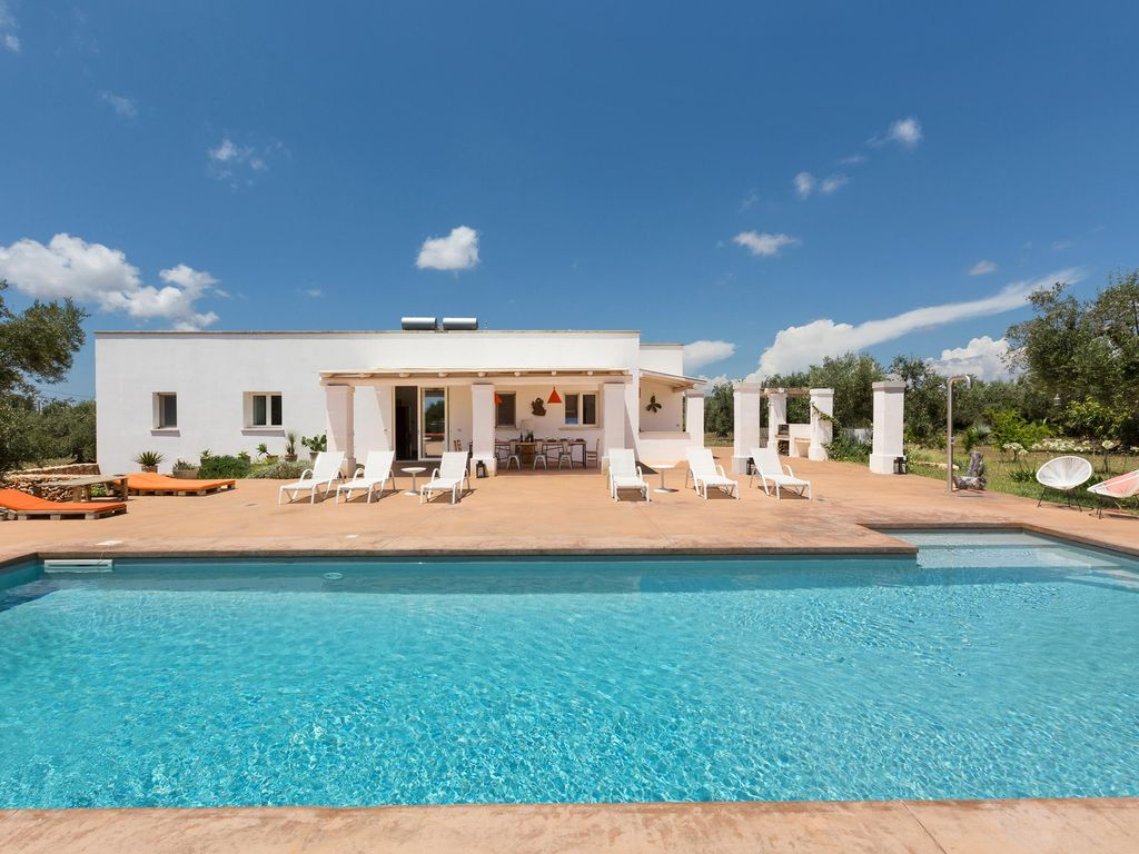 Country Villa With Pool Close To The Sandy Beach, Max Comfort U0026 Relaxing!