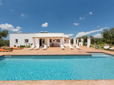 Photo for Country villa with pool close to the sandy beach, max comfort & relaxing!
