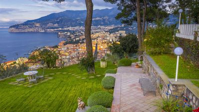 Photo for Villa Giada with Swimming Pool, Garden, Sea View and Parking
