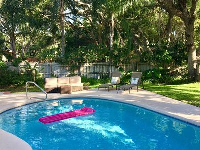 Photo for Summer Special! Beach House w/ Swimming Pool, Game room! Walk to beach