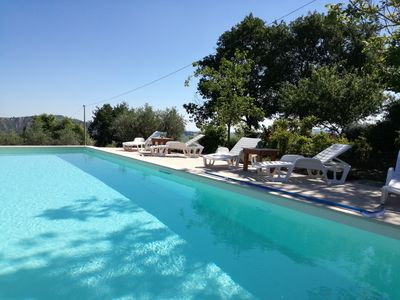 Photo for Casa Fonte Pecorale Apartments il Pozzo and il Nido heated pool