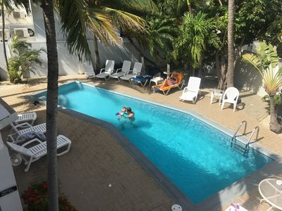 Photo for 2 bedroom vacational apartment in Aruba near Eagle Beach!