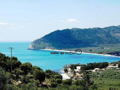 Photo for Beautiful seaside house in Mediterranean style with private terrace on the Gargano
