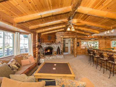 Photo for Amazing Big Bear Cabin  - Professional Decorated, Spa-WiFi-Cable-Upgraded