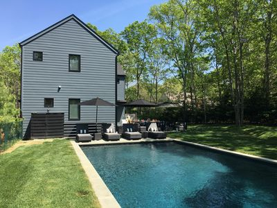 Photo for FULL MONTH AUG-LABOR DAY: Modern 4 Bdrm East Hampton Heated Pool Aug 1-Sep 3