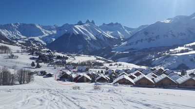 Photo for Apartment 70m² 6/7 people at the foot of the slopes Les Sybelles