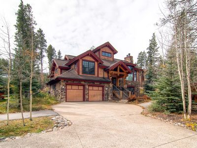 Photo for 20% Off Spring! Exquisite Mountain Chalet, Gourmet Kitchen, Private Hot Tub