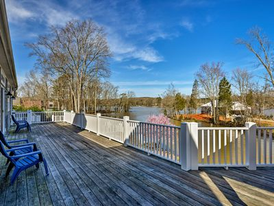 Photo for NEW! Upscale Lexington Home w/Dock on High Rock Lk