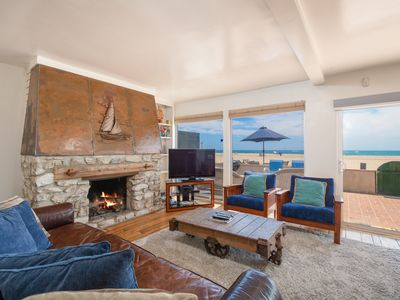 Photo for Direct Oceanfront! 2BR w/ Panoramic Views & Fire Pit – Walk to Dining & Shops