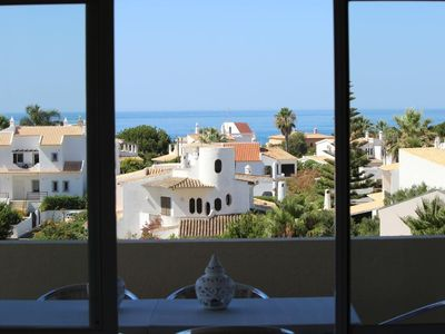 Photo for Apartment with sea view in Praia da Galé, Albufeira, Algarve, Portugal